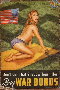 Propaganda Pinups - Don't let that Shadow... by warbirdphotographer