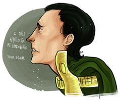 Loki: Your Equal by ManaFromHeaven