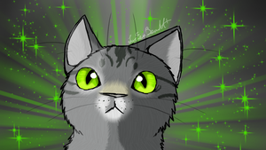 Green Eyed Cat- Realistic by Lucieniibi