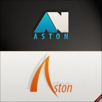 Aston - logo projects v1 by Frozz