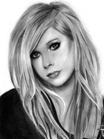 Avril Lavigne by asemharun