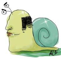 Alfred the Snail by naseu