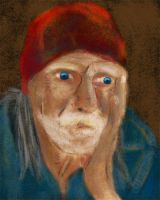Homeless man painting by rev-Jesse-C