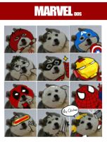 Marvel dogs by Ruinter