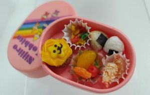 Mini Pink Bento Set by Snowfern