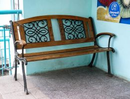 Chained bench by saltov-man