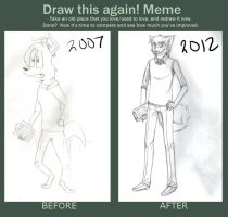 Record: Before and After by rainbowtail101