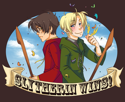 Slytherin Wins by Emily-Fay