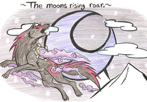 The Roaring Moon by Legendary-Wolven