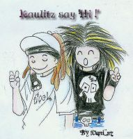 The Kaulitz say Hi by vani27