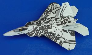 F-22 A Raptor - Starscream by Fyre-Dragon