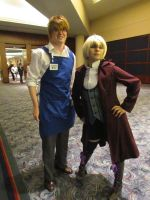 AWA Con: Alois and... by clockworkcosplay