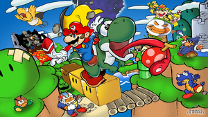 Super Mario World by Joelchan