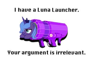 Luna Launcher by Thepegasusbrony