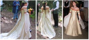 wedding dress by Fairlen