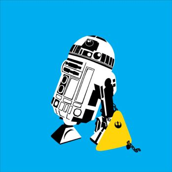 R2-D2 Clamped by mattcantdraw