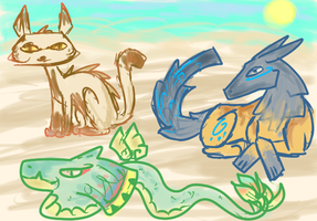 [Draw/Write 2 get] Doodle Desert Beauties! [CLOSED by Chocodopts