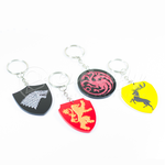 GOT Sigil Set Keychains by Cutterfly by mAi2x-chan