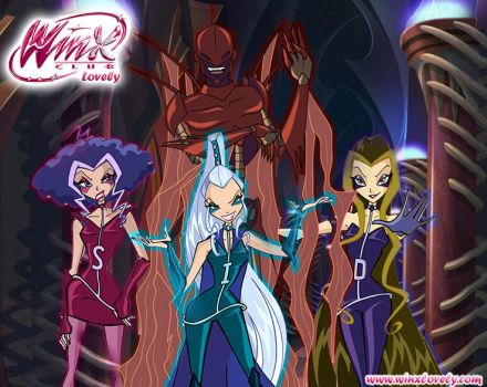 The Trix and Lord Darkar by WinxLovely