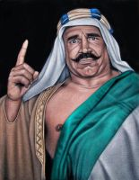 The Iron Sheik by BruceWhite
