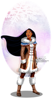 Winter Princess - Pocahontas by selinmarsou
