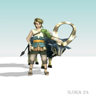 Link and his Goat. by Ilora24