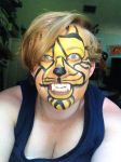 Tribal Tiger Makeup by Wolflover29
