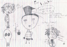 What Happens When I'm Bored at School by TrinityKarose