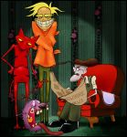 Courage the Cowardly Dog by Etve