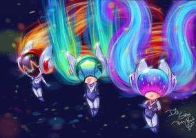 League of Legends party hard Dj Sona Chibis by JamilSC11