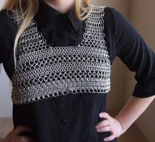 Striped Chainmail Minivest by ofmyhats