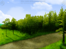 Old Pathway by Mike-Dragon