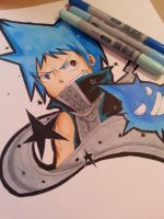 Black Star Fanart by NauticaWilliams