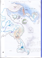 Enaugia map - early something. by Tirrathee