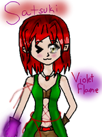 Violet Flame Satsuki by EpicDreamer2011