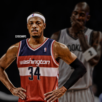 Paul Pierce to the Wizards | Jersey Swap by ClydeGraffix
