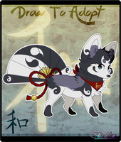 Foxfan // Draw to Adopt // CLOSED by Belliko-art