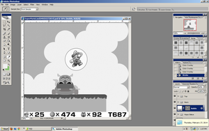 Super Mario Land 2 HD 02272014 WIP by BLUEamnesiac