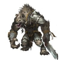 Gnoll by Midfinger