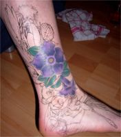 tattoo enlarged with marker by blackmonchichi