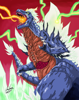 Space-Godzilla by Jason-FH-Art