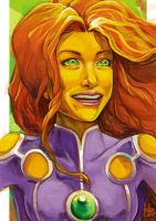 Daily Sketches Starfire by fedde