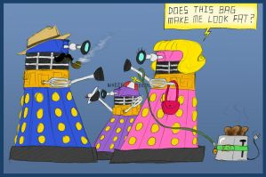The Daleksons by LizzieDaKittie