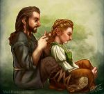 Of Hobbits and Hair Braiding 2 by Mad-Hattie