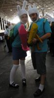Adventure Time cosplay 1 by Ligechan