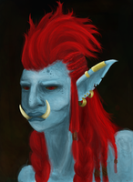 Lady Troll by Plommerie