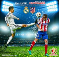 REAL MADRID - ATLETICO MADRID 2015 by jafarjeef