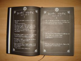 Death Note by c3yL
