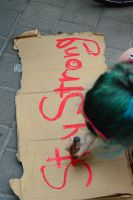 Stay Strong - Solidarity with #OccupyGezi by avivi