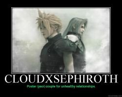Anti-Clephiroth Motivational by HC-IIIX